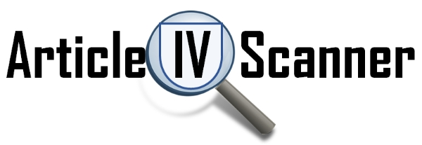 Article IV Scanner Logo